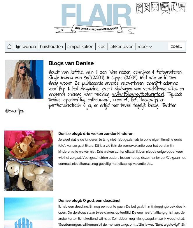 Flair blogs