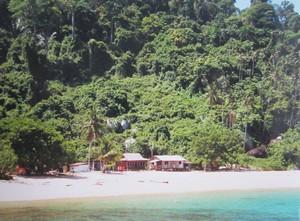 Maleisie Tioman eiland