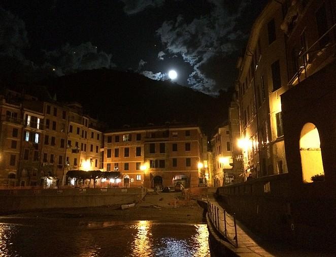 Vernazza Cinque Terre by night