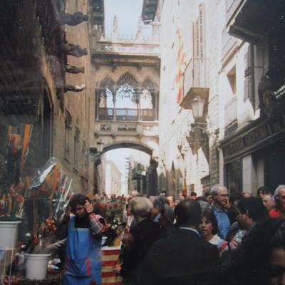 Día de Sant Jordi in Barcelona