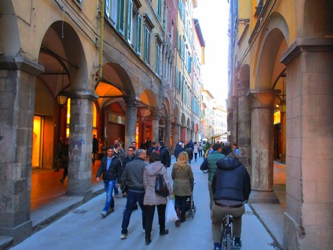Pisa begin maart