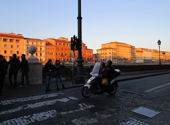 Typisch Italiaans straatbeeld