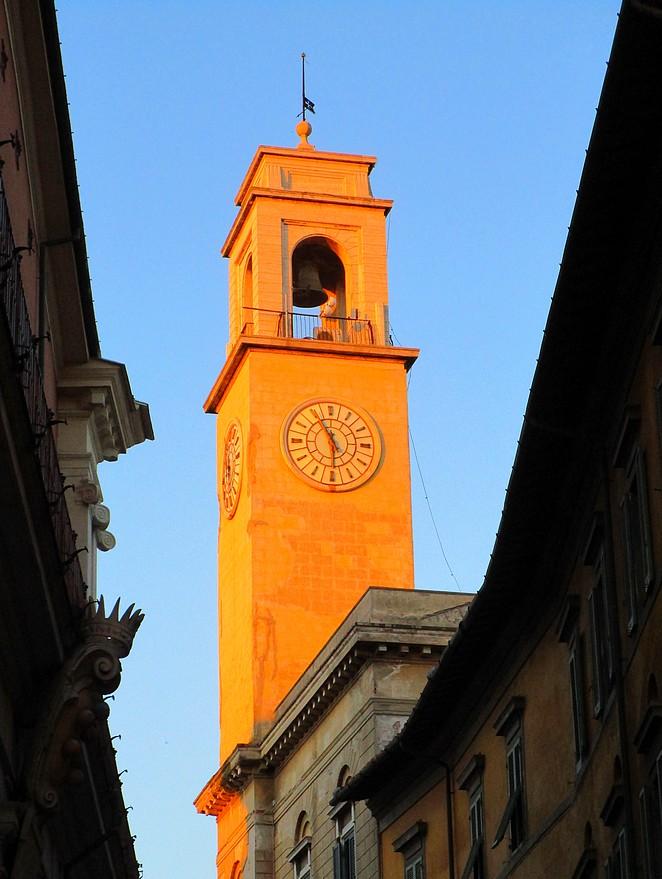 Kerktoren in Pisa