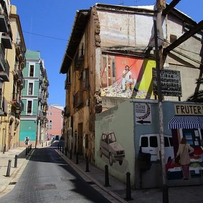 Mooie Street Art in El Carmen