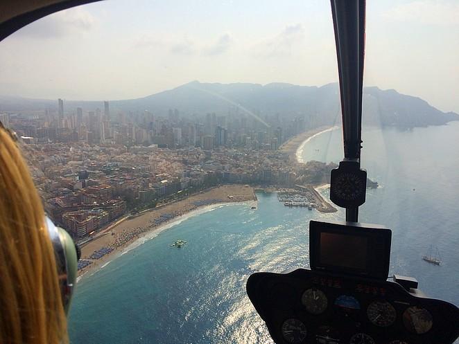 Helikoptervlucht-Benidorm-Costa-Blanca
