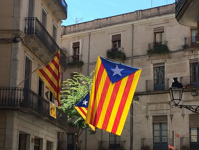 Catalaanse-vlag-Gerona