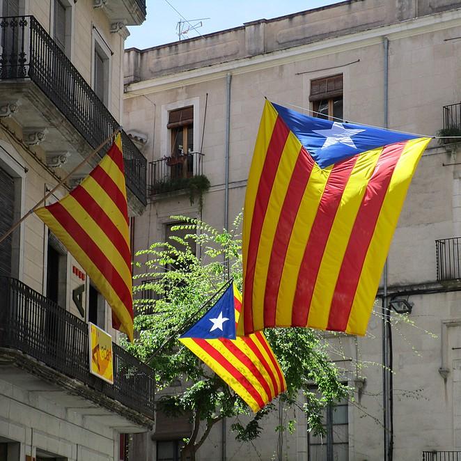 land met vlag dat lijkt op twitter logo