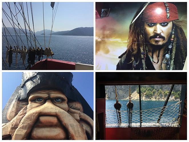 Barbossa-piratenschip