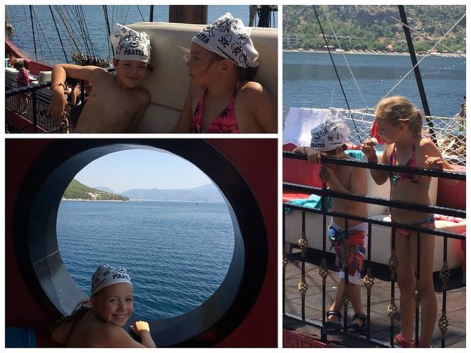 piratenboot boottocht