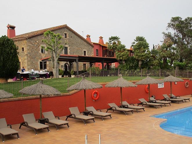 Mooi hotel in binnenland Spanje niet ver van de kust