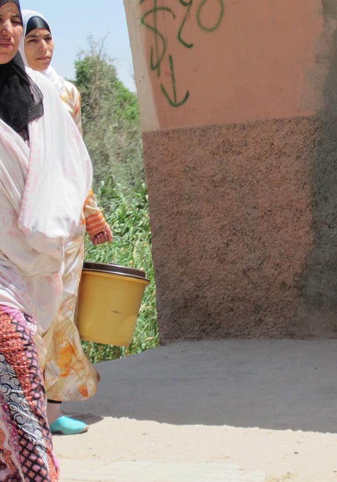 Vrouwen Marokko onderweg