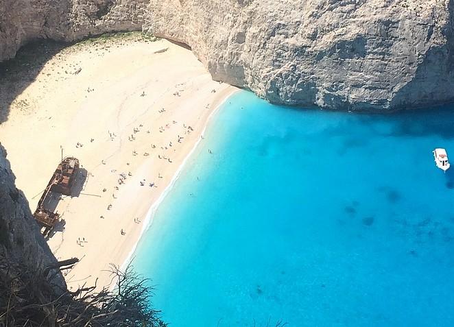 zakynthos beach naviago