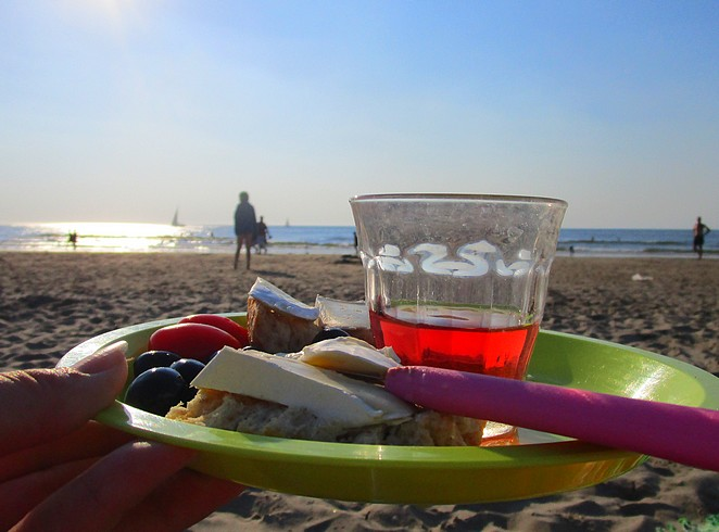 picknick-strand