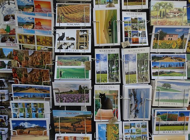 Toscane-postcard