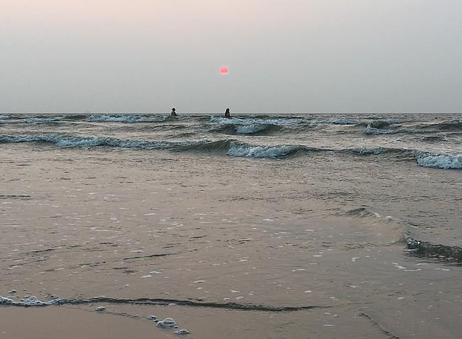 zonsondergang-roze-zon