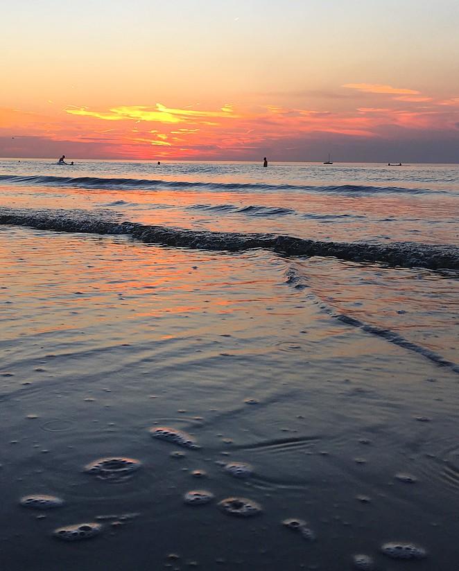 zuiderstrand-zonsondergang
