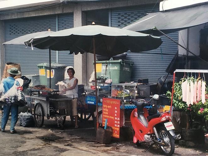 Eetstalletjes op straat
