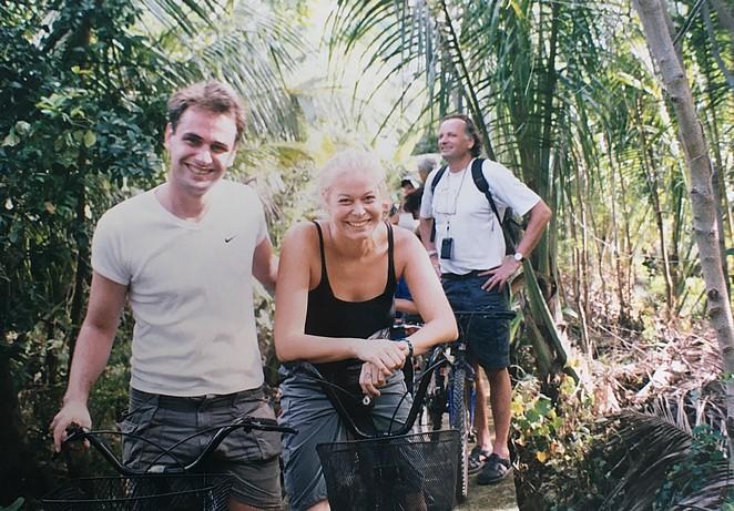 Fietsen in Bangkok in 2001-2002