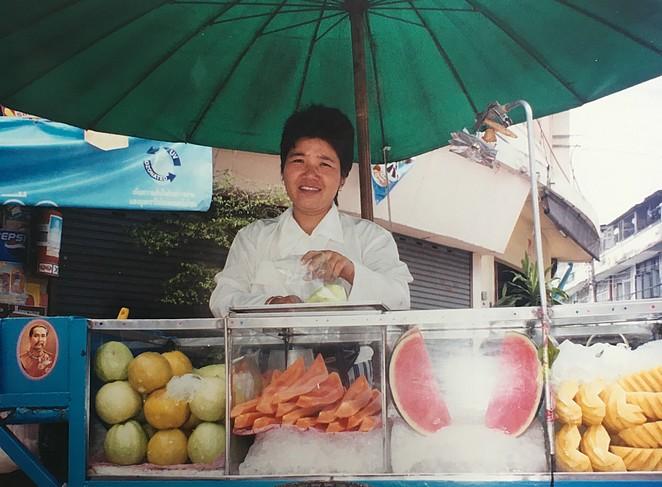 Fruitkarretje Bangkok
