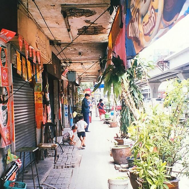 Mijn leven en werk in Bangkok