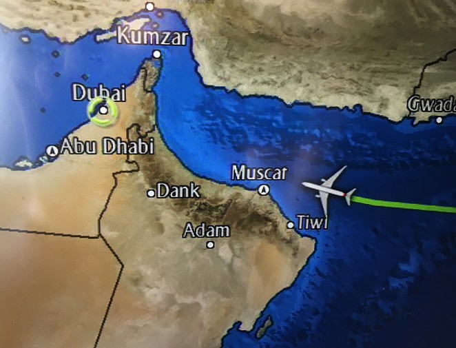 Vliegen-naar-Dubai