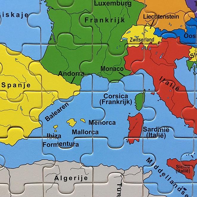 Waar ligt… Nederland, Europa, de wereld?