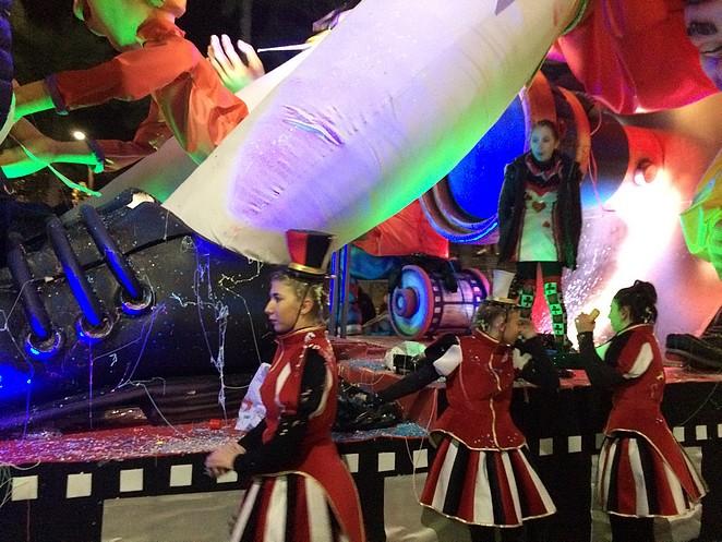 Carnavalsoptocht-Frankrijk