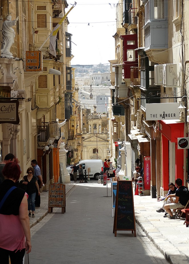 Steile-straatjes-Valletta