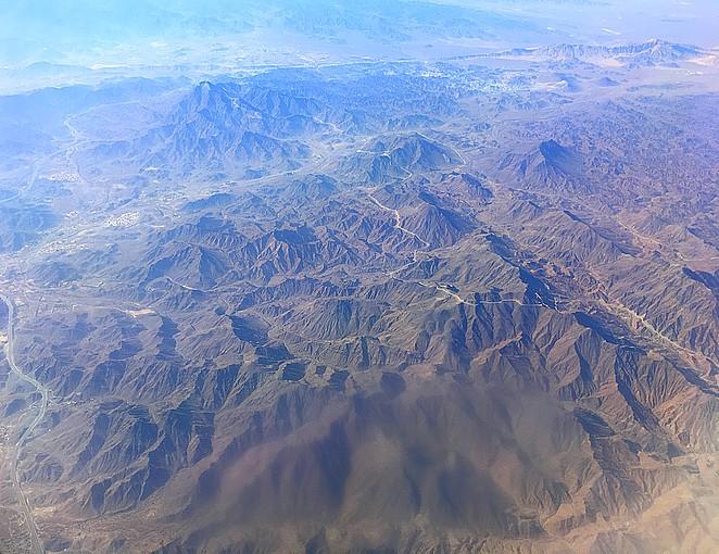 Emiraten-bergen