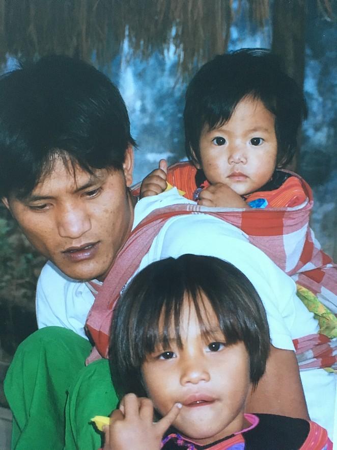 Bergstam-in-Noord-Thailand