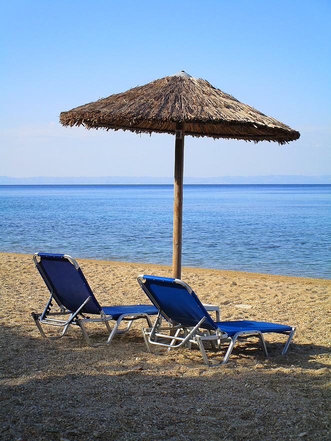 Chalkidiki-strand