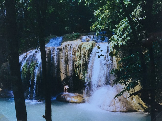 Erawan-watervallen