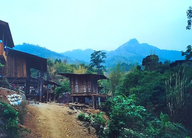 Village-Noord-Thailand