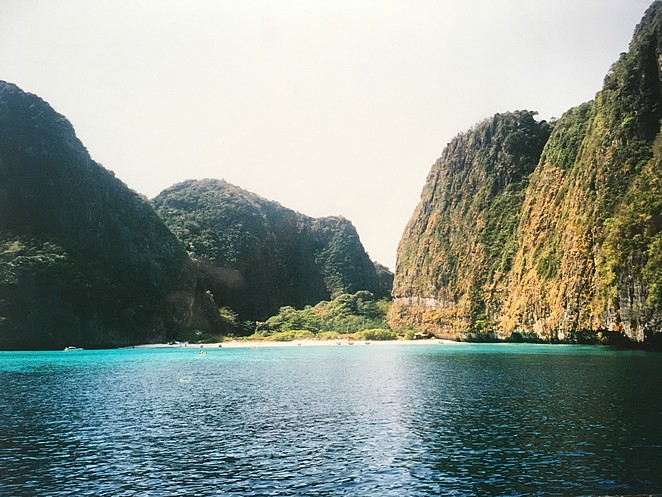 het eiland van de vorige dag