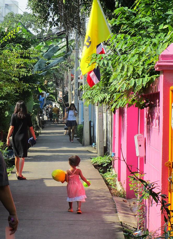 Meisje-Bangkok