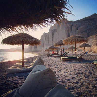 6 bekende stranden op Santorini