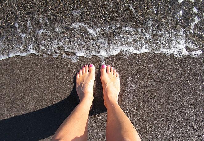 Santorini-strand