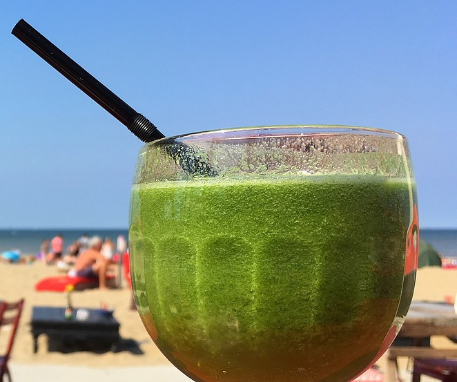 smoothie-op-strand