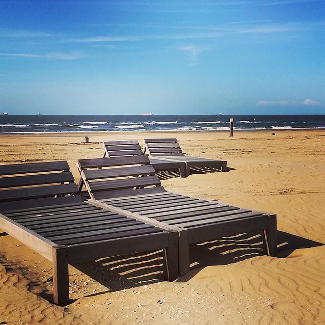 Strandtenten Zwarte Pad en Noorderstrand
