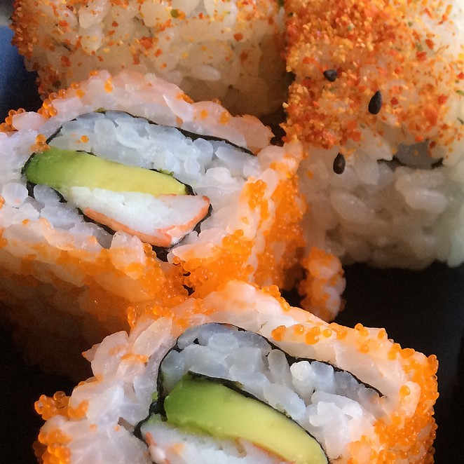 Sushi Festival JOY met Asian street food
