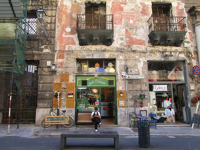 winkelstraat-Palermo