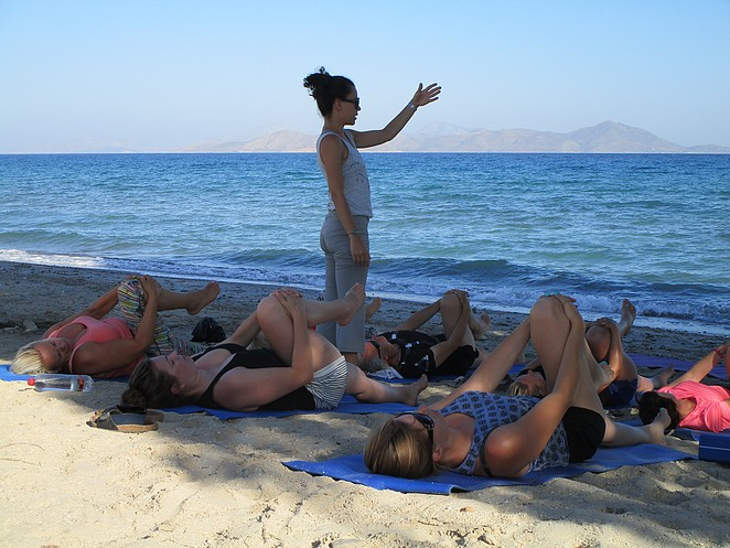oefeningen-strand