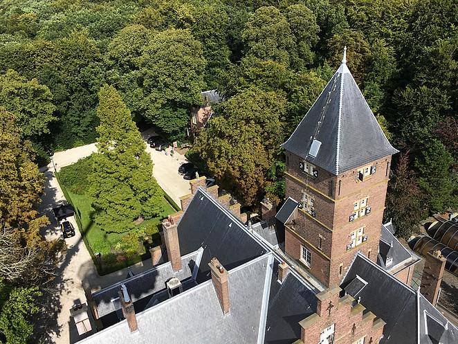 Kasteel-de-Wittenburg-vanuit-de-lucht