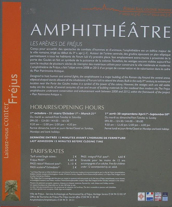 amphitheatre-frejus