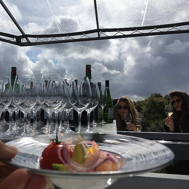 Unieke ervaring: Dinner in the Sky