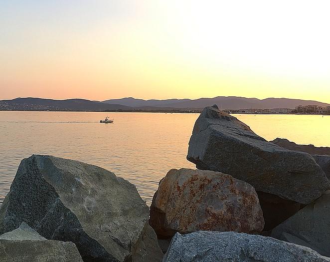 zonsondergang-saint-raphael
