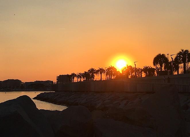 zonsondergang-st-raphael