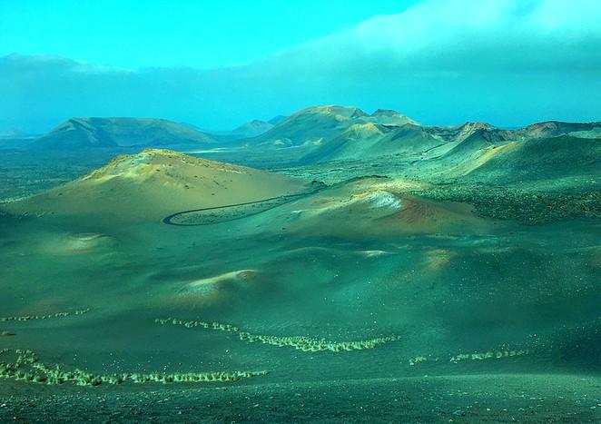 naam national park vulkaan lanzarote