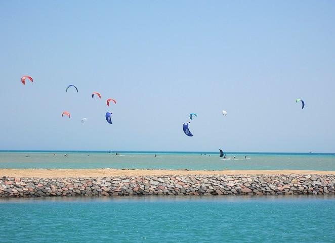 kite-surfen-egypte