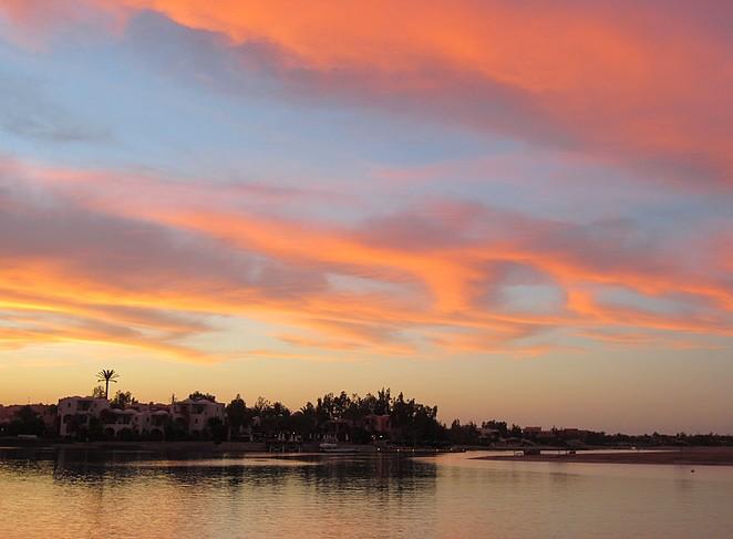 zonsondergang-el-gouna